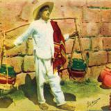 No. 24: Vendedor típico de canastos
