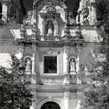 Facahada del templo de Zapopan