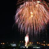 Fuegos Pirotecnicos 15 Septiembre, en Sombrerete.