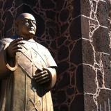 Escultura en homenaje al Pbro. Ildefonso Illescas Pichardo