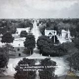 Jardin de la Penitenciaria y Centenario
