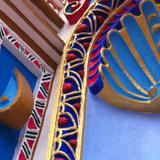 Detalle de la fachada de la Parroquia de Chignahuapan