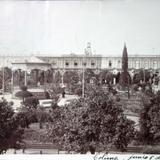 El Jardin Principal ( Fechada el dia 5 de Junio de 1910 )