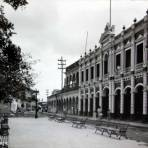Un aspecto de el Palacio Municipal.