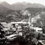 Panorama de la Poblacion ( Fechada en 1925 )