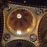 Interior de la cúpula del Templo de la Virgen de Guadalupe. Marzo/2016
