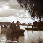 Canoas en El Rio Lerma