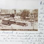 La Plaza de Armas ( Fechada 8 de Agosto de 1902 )