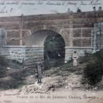 El Puente en el Rio de Jalatlaco ( Fechada 12 de mayo de 1909 )