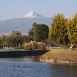 Montaña La Malinche desde el Parque Ecológico. Marzo/2016
