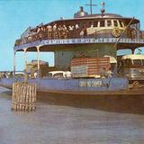 Ferry en la Laguna de Términos