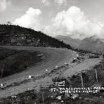 Curva en la Carretera México - Laredo