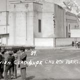Vista posterior de la Misión de Guadalupe
