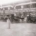 Agencia José L. Fox, coches importados de Estados Unidos (circa 1905)
