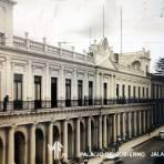 El Palacio de Gobierno.