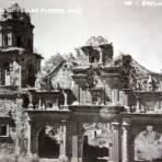 Ruinas de la Iglesia.