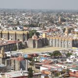 Vista del ex-convento de San Gabriel, siglo XVI. Enero/2017