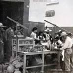 Mercado callejero en Queretaro.