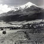 El Pico de Orizaba Por el fotografo Hugo Brehme.