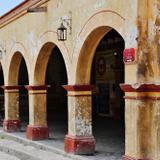 Arcos en la calle Juan Aldama