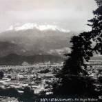 Volcan Ixtaccihuatl Por el fotografo Hugo Brehme.
