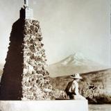 Volcan Popocatepetl Por el fotografo Hugo Brehme.