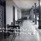 Parte del corredor de la Villa de Flores.