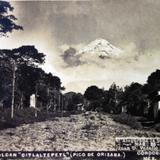 Pico de Orizaba o volcan CITLALTEPETL ( 26 de Marzo de 1907 )