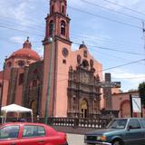Templo de Santo Domingo en la Av. Juárez. Abril/2017