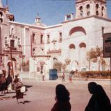 El Templo de San Diego y la Capilla de la Tercera Orden, en la Cd. de Aguascalientes. .