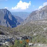 Barranca de Tolantongo desde el mirador. Junio/2017