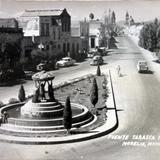 Fuente Tarasca y Ave Madero .