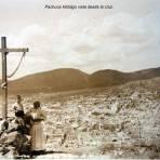 Pachuca Hidalgo vista desde la cruz.