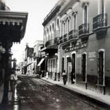 Avenida Hidalgo ( Circulada el 7 de Junio de 1936 ).
