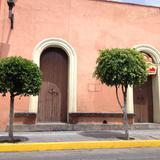 Calles de Tlaxcala, arquitectura. Julio/2017