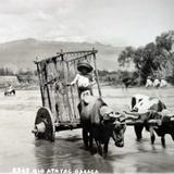 Rio Atoyac Por el fotografo Hugo Brehme.