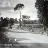 Carretera de Tehuacan a Puebla.