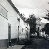 Palacio Municipal y Farmacia Occidental Autlán Jalisco