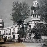Edificio principal de la Escuela Nacional de Agricultura. Chapingo, México