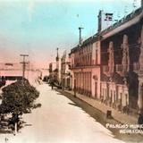Palacios de gobierno y municipal.