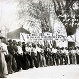 Evento politico del 1 de Mayo de 1937