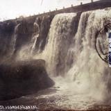 El Salto Por el fotografo Hugo Brehme ( Circulada en Febrero de 1930 ).
