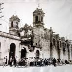 La Iglesia fechada el 26 de Junio de 1929 durante la Guerra Cristera.
