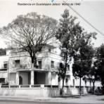 Residencia en Guadalajara Jalisco  Marzo de 1946.