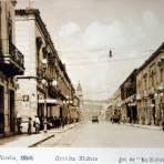 Avenida Madero.