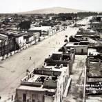 Calzada Independencia  ( Circulada el 7 de Marzo de 1932 ).