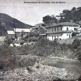 Panorama de Temascaltepec de González ( Circulada el 3 de Noviembre de 1910 )