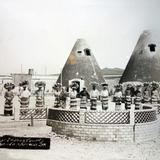 Los Indios courts de Santa Mónica, Guadalupe, Zacatecas