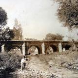 Puente viejo ( Circulada el 6 de Junio de 1923 ).