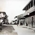 Calle principal ( Circulada el 18 de Noviembre de 1936 ).